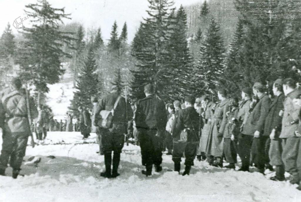 Zbor borcev Šlandrove brigade na Menini planini, november 1943