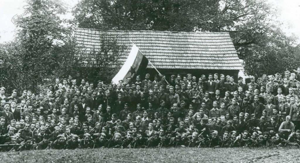 Tretja brigada Vojske državne varnosti v Radmirju, september 1944