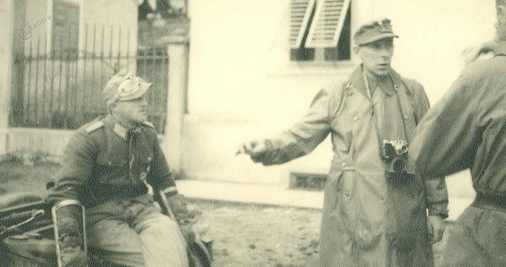 Nemška vojska ob ponovnem zavzetju Mozirja, december 1944