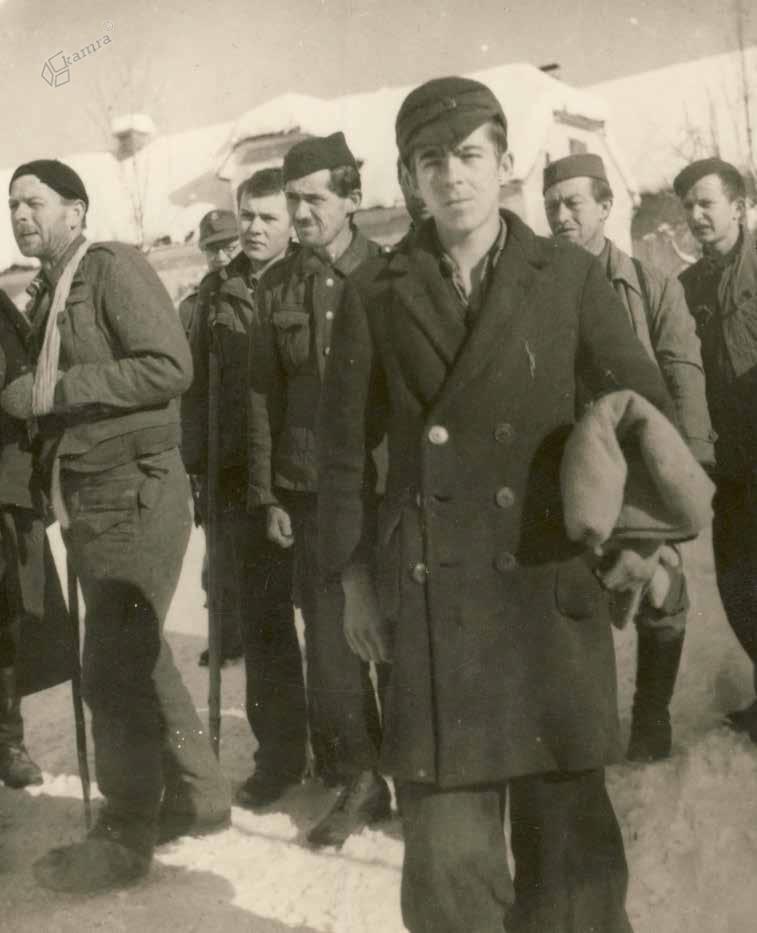 Ujeti partizani iz partizanske bolnice v Lučki Beli, december 1944