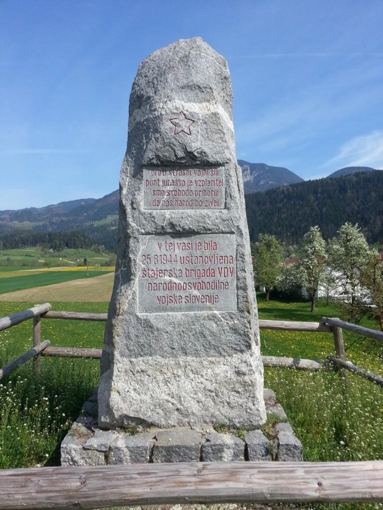 Spomenik na mestu ustanovitve III. brigade VDV v Radmirju
