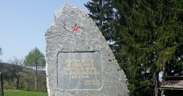 Pohod na Čreto na proslavo v spomin prve frontalne borbe Štajerskih partizanov