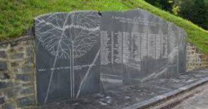 Spomenik 100 Frankolovskim žrtvam, med njimi je bil tudi Franc Valte z Ljubnega