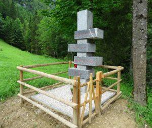 Spomenik borcem XIV. divizije, padlim na območju Podvolovljeka