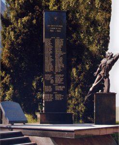 Osrednji spomenik padlih borcev NOB in žrtev okupatorjevega nasilja 1941- 1945 v Gornjem Gradu in okolici