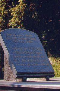 Spominska plošča boja Zidanškove (Pohorske) brigade za osvoboditev Gornjega Grada v dneh 30.7. – 1.8.1944