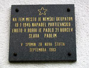 Spominska plošča na Vrbočnikovi hiši, Šmiklavž 22