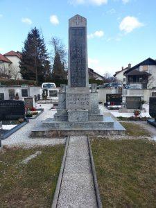 Spomenik padlim vojakom v 1. svetovni vojni iz Gornjega Grada in okolice