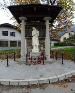 Spomenik padlim krajanom Bočne v 1. svetovni vojni in borcem NOB ter žrtvam okupatorjevega nasilja 1941 – 1945