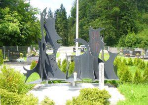 Spomenik – grobišče 12 neznanih borcev
