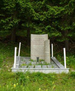 Grobišče štirih neznanih borcev 14. divizije